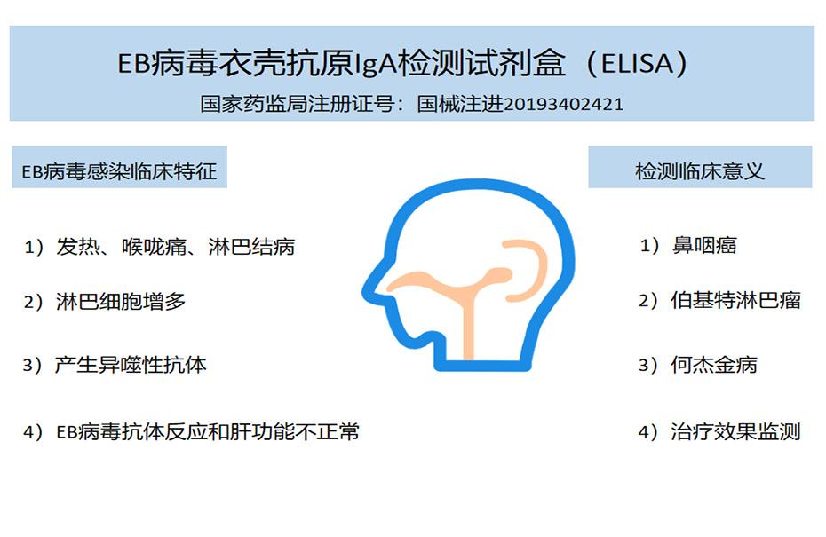 EB病毒衣壳抗原IgA检测试剂盒(ELISA)