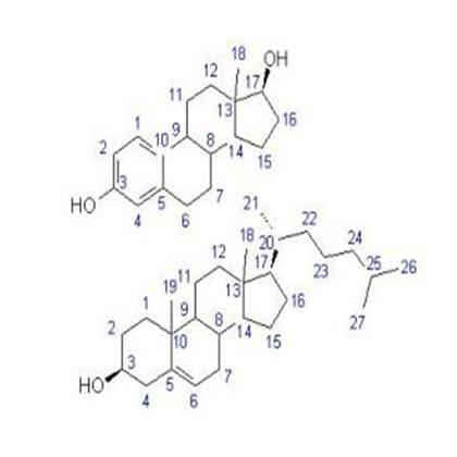 化学分子式雌二醇